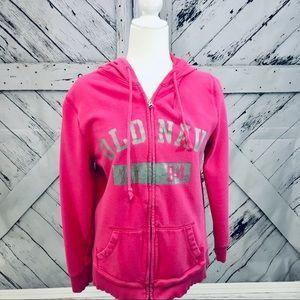 Pink Old Navy Zip Up Hoodie